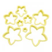 Cortador de plástico Estrela com 8 pçs