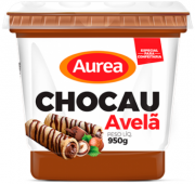 DOCE DE LEITE  CHOCAU COM AVELÃ  950g, AUREA