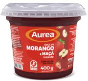 DOCE DE MORANGO E MAÇÃ CREMOSO 1,01Kg, AUREA