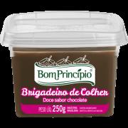 Doce sabor chocolate brigadeiro de colher 250g