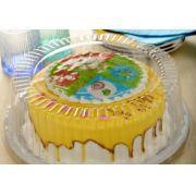 Embalagem para bolo Torta Média 1,7Kg - G 56MM com 10 und