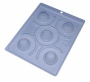 Forma de acetato com silicone mine cupcake