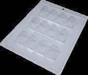 Forma de acetato com silicone tablete genuino - BWB