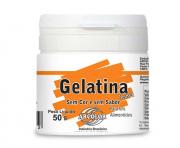 Gelatina Neutra sem cor e sem sabor 50g Arcolor