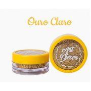 Glitter comestível Art Decor Ouro Claro 5g