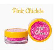 Glitter comestível Art Decor Pink chiclete 5g