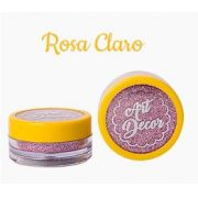 Glitter comestível Art Decor Rosa Claro 5g