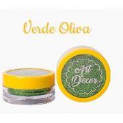 Glitter comestível Art Decor Verde Oliva 5g