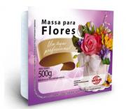 Massa para flores branca  500g Arcolor