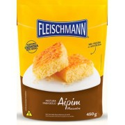 Mistura para bolo Sabor Aipim 450g  - fleischmann