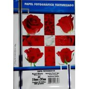 Papel fotográfico textura Linho 200g c/20 folhas