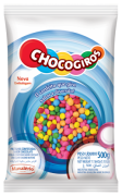 Pastilhas confeiteitada sabor chocolate Chocogiros 500g