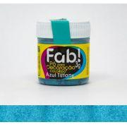 Pó para decoração Azul Tiffany Fab! 3g