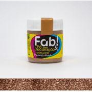 Pó para decoração Dourado Rosê Fab! 5g