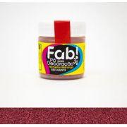 Pó para decoração Vermelho morango Fab! 3g