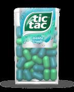 TIC-TAC MENTA CRUSH 14 UN X 16 G