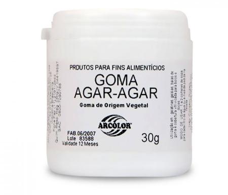 Goma Agar 30g - Arcolor