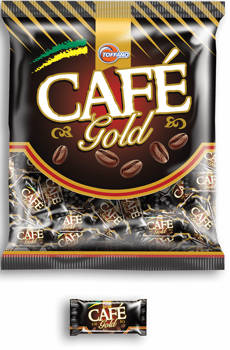 BALA CAFE GOLD 500g - TOFFANO