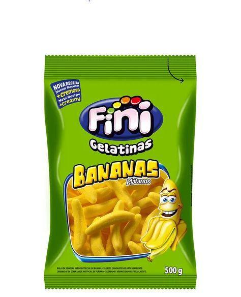 Bananas de gelatinas Açucaradas - 100g