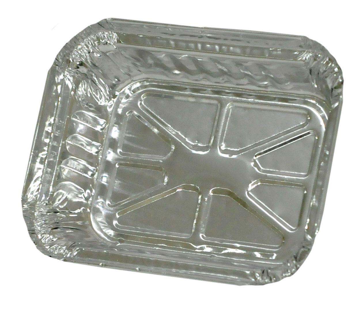 Bandeja de Alumínio Retangular T090 - TÉRMICA  ( CX  C/200 UNI)