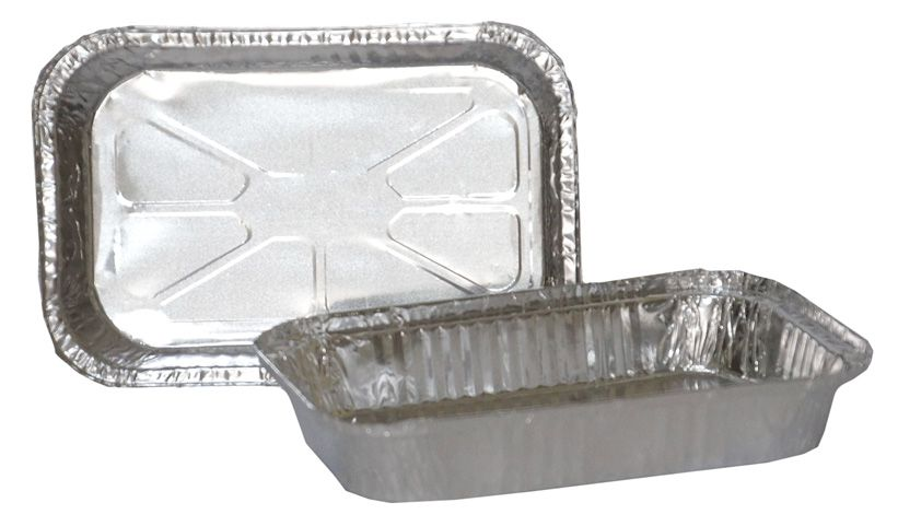 Bandeja de Alumínio Retangular T184 - TÉRMICA