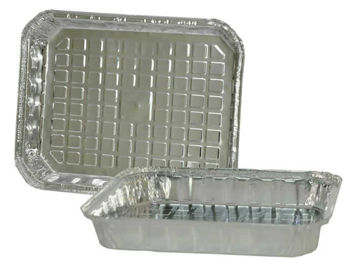 Bandeja de Alumínio Retangular T200 - TÉRMICA