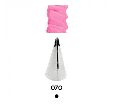 Bico de Confeitar Babado Inox Mod.070 Celebrate
