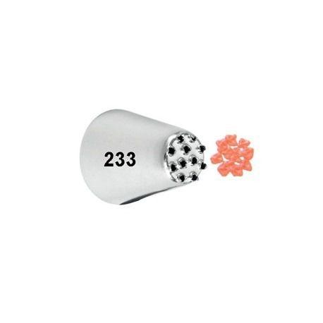 Bico de Confeitar Chuveirinho Inox Mod.233 Wilton