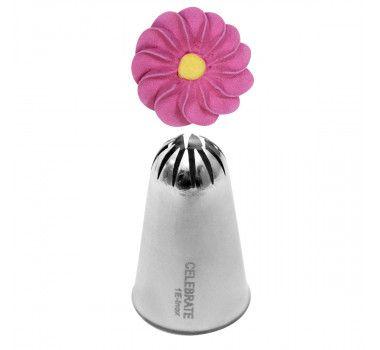 Bico de Confeitar Flor Instantânea Inox Mod.1E Celebrate