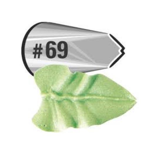 Bico de Confeitar Folha Inox Mod.69 Wilton