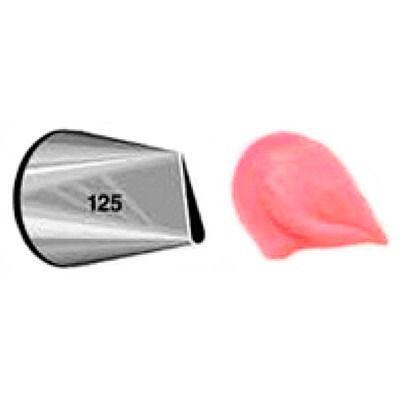 Bico de Confeitar Pétala Inox Mod.125 Wilton