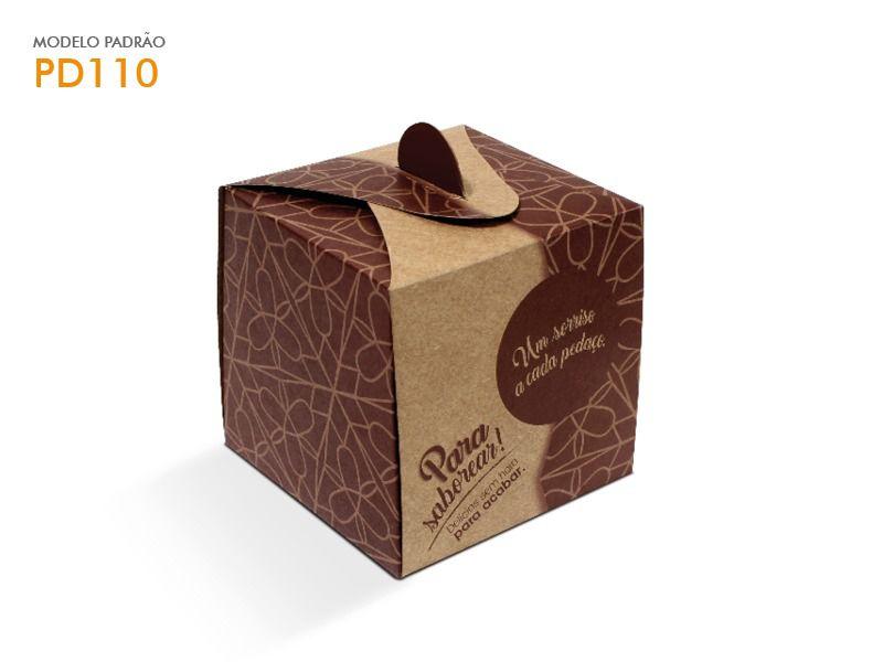 Caixa para mono porção 10x10x10