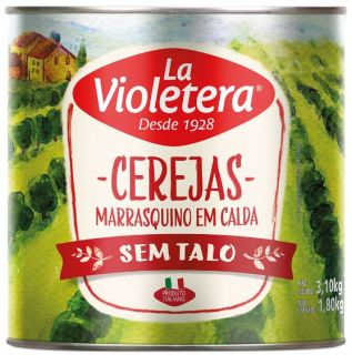Cereja Marrasquino (sem talo) 1,80 KG - LA VIOLETERA