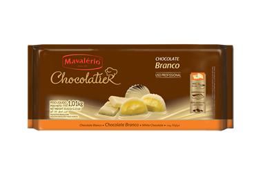 Chocolate branco Chocolatier Mavalério 1kg