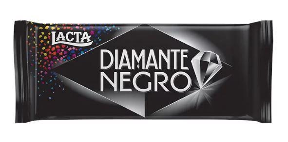 Chocolate DIAMANTE NEGRO 90G - Lacta