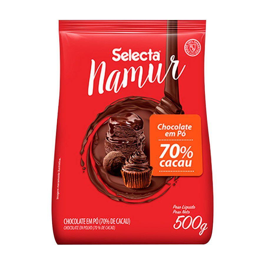 CHOCOLATE EM PÓ 70% CACAU 500g. SELECTA