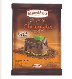 Chocolate em Pó Solúvel 32% Cacau Mavalério 1kg