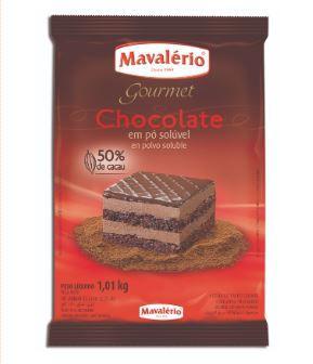 Chocolate em Pó Solúvel 50% Cacau Mavalério 1kg