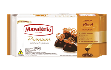 Cobertura Fracionada Premium Sabor Chocolate blend 1kg