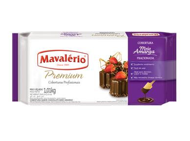Cobertura Premium Sabor Chocolate meio amargo 1kg