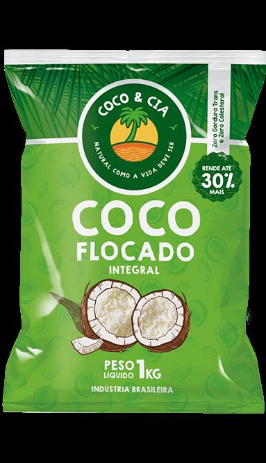 COCO FLOCADO INTEGRAL 1 kg - COCO & CIA