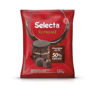 CHOCOLATE EM PÓ 50% CACAU 1,01kg. SELECTA