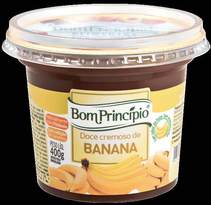 Doce cremoso de Banana 400g