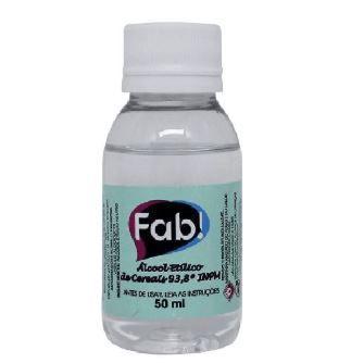 Solução Alcoólica Neutra 50ml - Fab