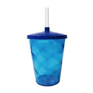 Copo Twister Azul 300ml c/tampa