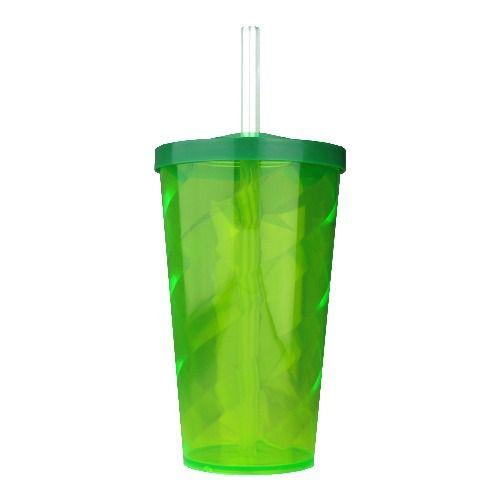 Copo Twister Verde 300ml c/tampa