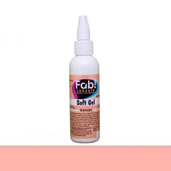 Corante Soft Gel FAB 25 g - Salmão