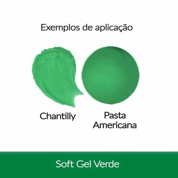 Corante Soft Gel FAB 25 g - Verde