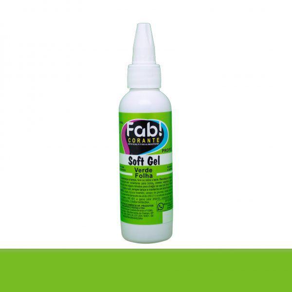 Corante Soft Gel FAB 25 g - Verde Folha