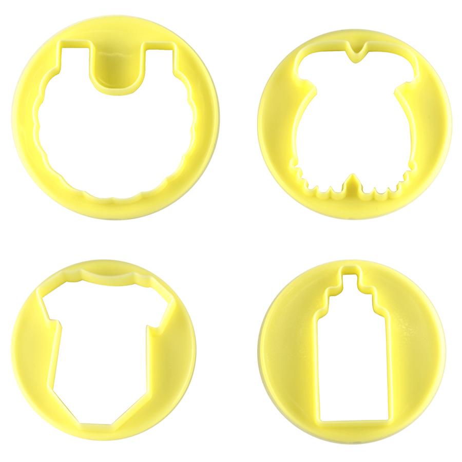Cortador  kit baby 4pçs